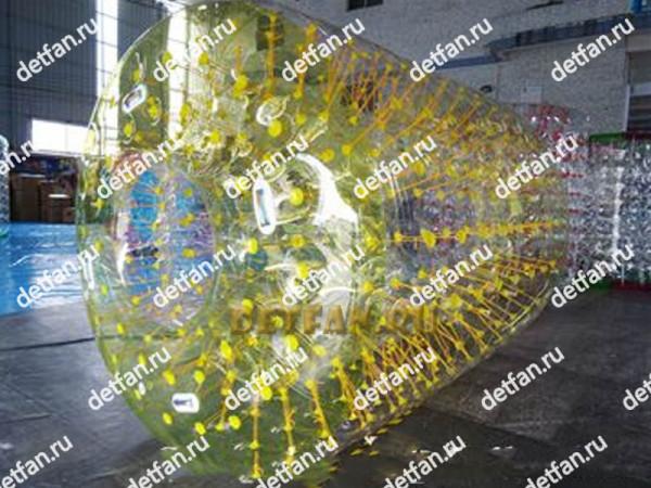 Роллер зорб желтый D-2,7*2,1м