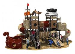 """Игровая детская площадка """"Пиратский 2"""" 10,5*7,5*5,6м"""