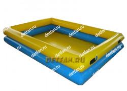 """Надувной бассейн """"Двойной №1"""" 6*4*1,3м"""