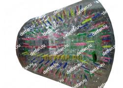 Роллер зорб разноцветный D-2,7*2,1м