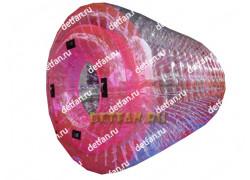 Роллер зорб розовый D-2,7*2,1м